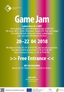 LD41 Prague Jam Site Poster