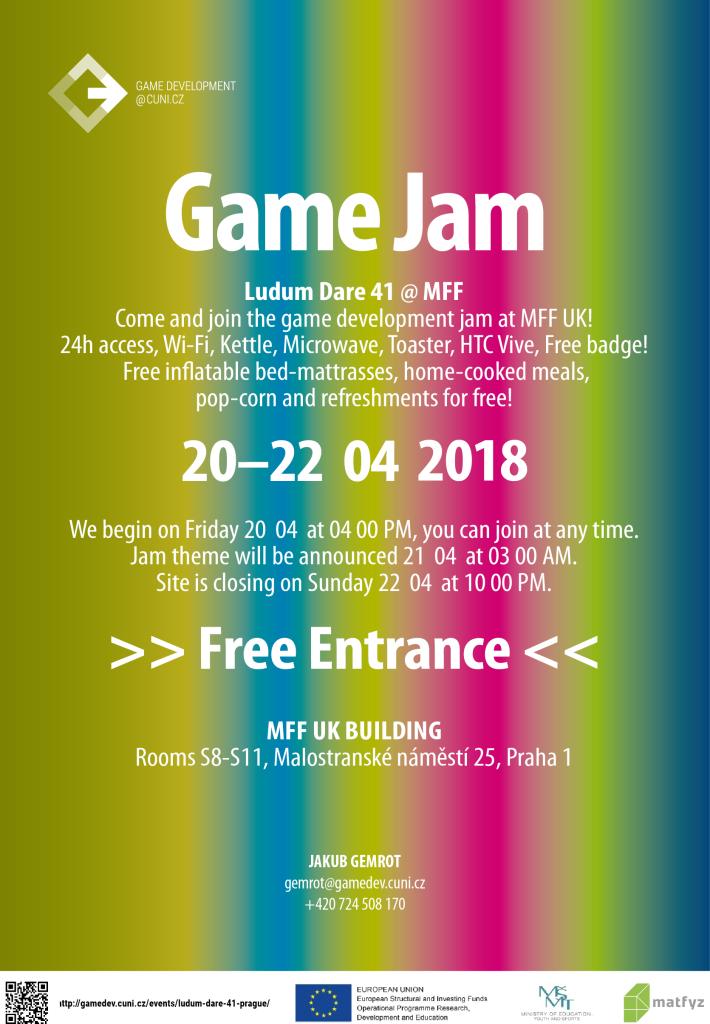 LD41 Prague Jam Site Poster
